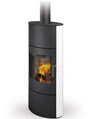 OVALIS 05 A ceramic - fireplace stove